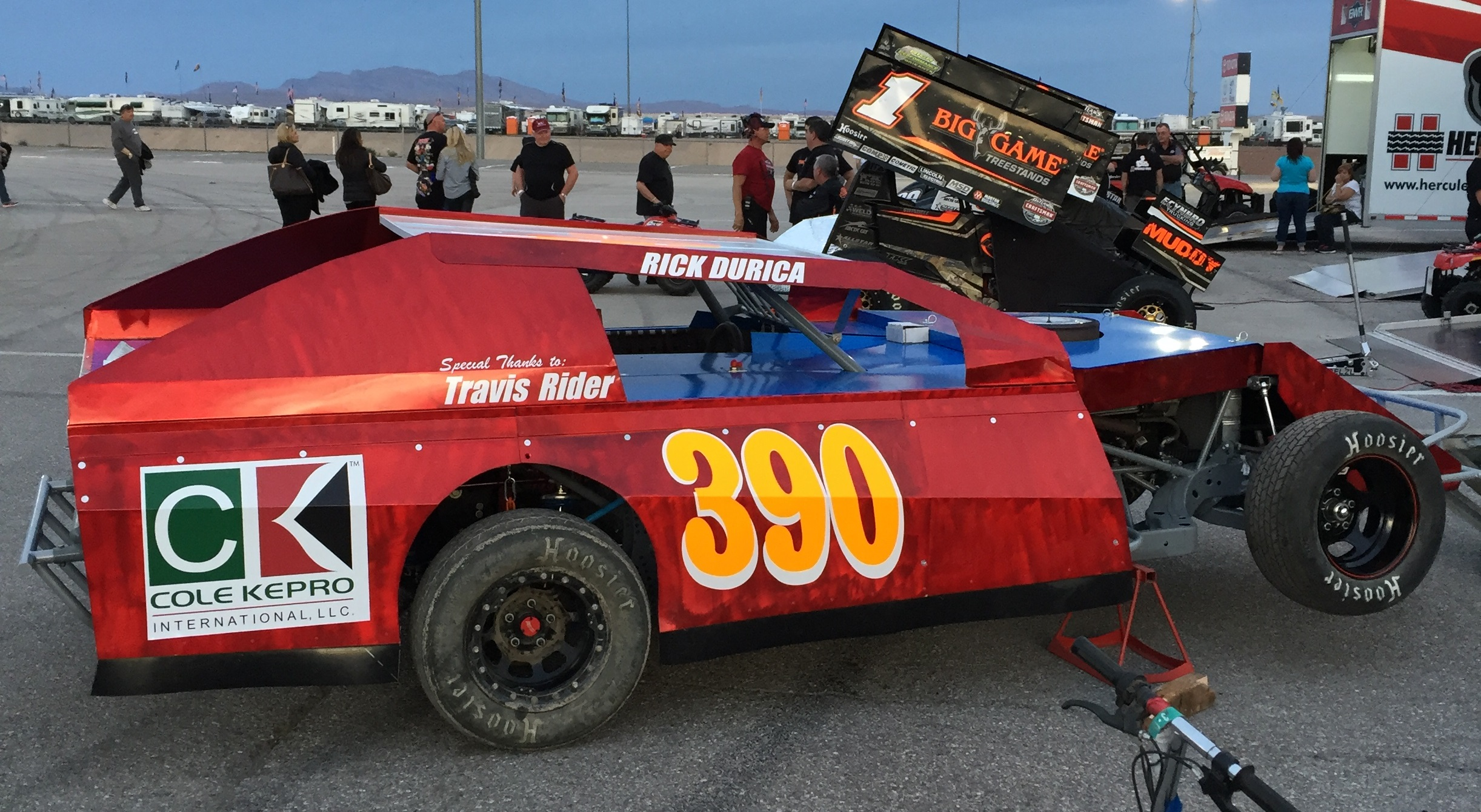 IMCA Modified at Las Vegas  Motor Speedway march 2016